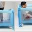 B10104 เตียงนอนเด็ก เพลย์เพ็น สิ้นค้าใหม่นำเข้าราคาถูก A2 สีชมพู thumbnail 7