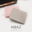 กระเป๋าสตางค์ผู้หญิง แบบบาง รุ่น AMAZ SlimII สีเทา thumbnail 5