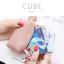 กระเป๋าสตางค์ ใส่เหรียญ รุ่น CUBE สีม่วง thumbnail 6
