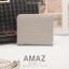 กระเป๋าสตางค์ผู้หญิง แบบบาง รุ่น AMAZ SlimII สีเทา thumbnail 2