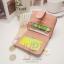 กระเป๋าสตางค์ผู้หญิง JUDY สีชมพูอ่อน thumbnail 3