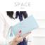กระเป๋าสตางค์ผู้หญิง ทรงถุง รุ่น SPACE สีฟ้า thumbnail 2
