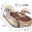 เบาะที่นั่งเสริมติดรถยนต์ Booster seat ยี่ห้อ kid star (ของใหม่) สินค้านำเข้าคุณภาพ C10124 thumbnail 12