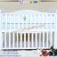 B10246 เตียงนอนไม้สำหรับเด็ก White Premium (WD4) thumbnail 2