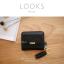 กระเป๋าสตางค์ผู้หญิง ใบสั้น รุ่น LOOKS สีดำ thumbnail 1