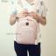 กระเป๋าเป้ผู้หญิง รุ่น AMAZ BAG สีชมพู thumbnail 7