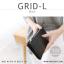 กระเป๋าสตางค์ผู้หญิง รุ่น GRID-L สีเทาอ่อน ใบยาว สองซิป thumbnail 26