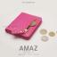 กระเป๋าสตางค์ผู้หญิง แบบบาง รุ่น AMAZ SlimII สีเทา thumbnail 15
