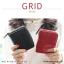 กระเป๋าสตางค์ผู้หญิง GRID สีดำ thumbnail 2