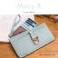 กระเป๋าสตางค์ผู้หญิง ทรงถุง รุ่น MACY-B สีแดง อินเดีย thumbnail 12
