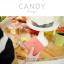 กระเป๋าสตางค์ผู้หญิง ใบสั้น รุ่น CANDY สีเทา thumbnail 19