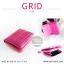กระเป๋าสตางค์ผู้หญิง GRID สีเทาอ่อน thumbnail 16