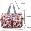 TP12055 กระเป๋าเก็บขวดนม สัมภาระคุณแม่สีลายดอกไม้ thumbnail 7