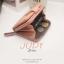 กระเป๋าสตางค์ผู้หญิง JUDY สีน้ำตาล thumbnail 7