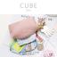 กระเป๋าสตางค์ ใส่เหรียญ รุ่น CUBE สีม่วง thumbnail 10
