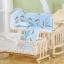 B10131 เตียงนอนไม้สำหรับเด็ก ครบชุดแถมเปลไกวเล็ก thumbnail 5