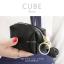 กระเป๋าสตางค์ ใส่เหรียญ รุ่น CUBE สีดำ thumbnail 2