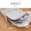 กระเป๋าสตางค์ผู้หญิง ขนาดกลาง รุ่น AMAZ สีเงิน thumbnail 7