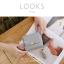 กระเป๋าสตางค์ผู้หญิง ใบสั้น รุ่น LOOKS สีดำ thumbnail 9