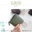 กระเป๋าสตางค์ผู้หญิง GRID สีเทาอ่อน thumbnail 14
