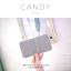กระเป๋าสตางค์ผู้หญิง ใบสั้น รุ่น CANDY สีเทา thumbnail 4