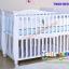 B10246 เตียงนอนไม้สำหรับเด็ก White Premium (WD4) thumbnail 7