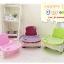 เก้าอี้เนั่งกินข้าวเด็กแบบพกพา C10150(สีเขียว) thumbnail 5