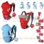 C10112เป้อุ้มเด็ก ปรับท่าอุ้มได้ 4แบบ(สีฟ้า)สินค้าจากต่างประเทศคุณภาพดี thumbnail 6