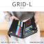 กระเป๋าสตางค์ผู้หญิง รุ่น GRID-L สีเทาอ่อน ใบยาว สองซิป thumbnail 22