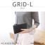 กระเป๋าสตางค์ผู้หญิง รุ่น GRID-L สีเทาอ่อน ใบยาว สองซิป thumbnail 24