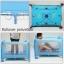B10101 Playpen เตียงนอนเด็ก แบบน่ารัก สินค้าใหม่นำเข้าพร้อมชั้นวางที่เปลี่ยนผ้าอ้อม (A1สีชมพู) thumbnail 5