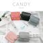 กระเป๋าสตางค์ผู้หญิง ใบสั้น รุ่น CANDY สีส้ม thumbnail 6