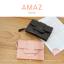กระเป๋าสตางค์ผู้หญิง ขนาดกลาง รุ่น AMAZ สีเงิน thumbnail 17