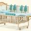 B10112 เตียงนอนไม้สามารถปรับเป็นโต๊ะเฟอร์นิเจอร์ได้ ลายเบาะ Jungle thumbnail 9