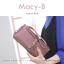 กระเป๋าสตางค์ผู้หญิง ทรงถุง รุ่น MACY-B สีแดง อินเดีย thumbnail 5