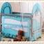TB21012 เตียงนอนเด็ก (สไตล์ยุโรป) สีเขียว thumbnail 9
