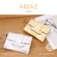 กระเป๋าสตางค์ผู้หญิง ขนาดกลาง รุ่น AMAZ สีเงิน thumbnail 2