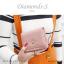 กระเป๋าสตางค์ผู้หญิง ใบสั้น รุ่น DIAMONDS-S สีฟ้า thumbnail 22