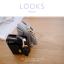 กระเป๋าสตางค์ผู้หญิง ใบสั้น รุ่น LOOKS สีดำ thumbnail 2