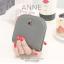 กระเป๋าสตางค์ผู้หญิง แบบบาง รุ่น ANNE สีเทา thumbnail 1