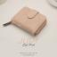 กระเป๋าสตางค์ผู้หญิง JUDY สีชมพูอ่อน thumbnail 2