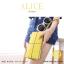 กระเป๋าสตางค์ผู้หญิง ทรงถุง กระเป๋าคลัทช์ สีเขียว รุ่น ALICE thumbnail 6