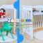 B10246 เตียงนอนไม้สำหรับเด็ก White Premium (WD4) thumbnail 6