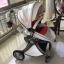รถเข็นเด็ก Premium design Ovule basket เเบบ High landscape สีขาว ฺ/ สีน้ำตาล thumbnail 9