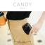 กระเป๋าสตางค์ผู้หญิง ใบสั้น รุ่น CANDY สีเทา thumbnail 13