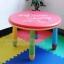 E10906 โต๊ะเขียนหนังสือเด็ก (โต๊ะกลม) สีชมพู thumbnail 3