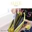 กระเป๋าสตางค์ผู้หญิง ทรงถุง กระเป๋าคลัทช์ สีเขียว รุ่น ALICE thumbnail 9