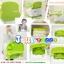เก้าอี้เนั่งกินข้าวเด็กแบบพกพา C10150(สีเขียว) thumbnail 7