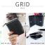 กระเป๋าสตางค์ผู้หญิง GRID สีดำ thumbnail 3