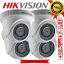 HIKVISION (( Camera Pack 4 )) DS-2CE56D0T-IR 2MP DOME 1080P Turbo HD thumbnail 1